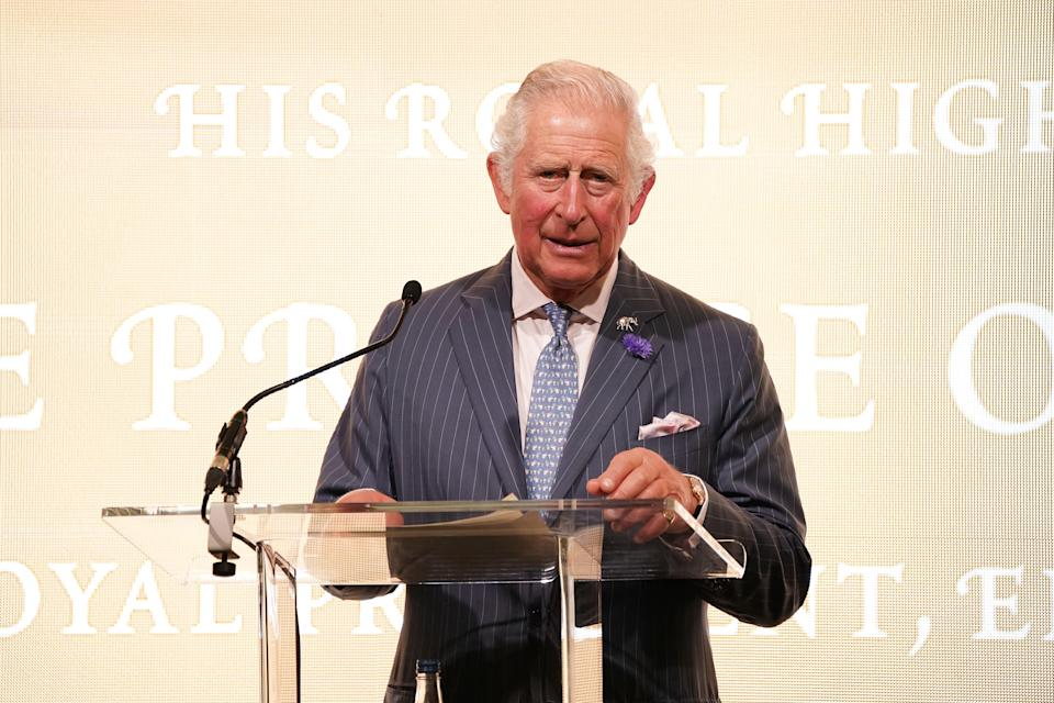 The Prince of Wales speaking at the A Starry Night In The Nilgiri Hills charity event (PA) (PA Wire)