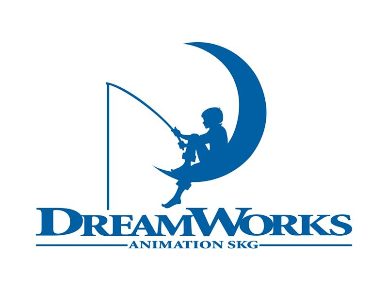 DREAMWORKS ANIMATION SKG logo, graphic element on white