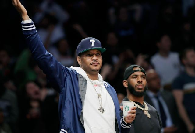 Could Carmelo Anthony go back to the Knicks? (AP)