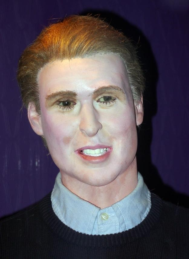 <p>Formerly featured at the now defunct House of Wax in Great Yarmouth, this tribute to Prince William was just ghastly – or should that be, ghostly? Copyright: [Albanpix] </p>