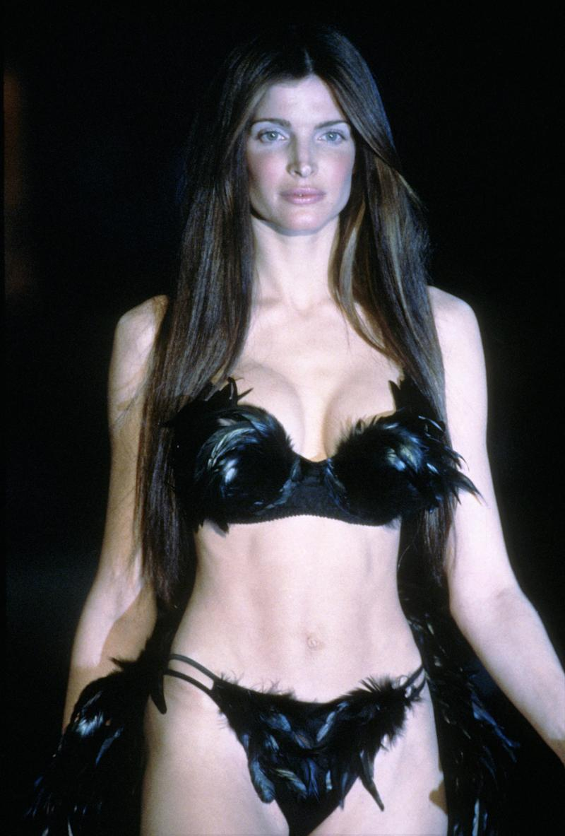 Stephanie Seymour at the 1999 Victoria's Secret Fashion Show in New York.