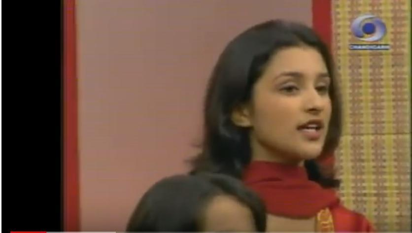 <p>Before earning her degree from Manchester Business School and joining Yash Raj Films as a public relations consultant and then graduating as a mainstream actress, teen Parineeti was trying her vocal chords in Doordarshan's chorus songs. </p>