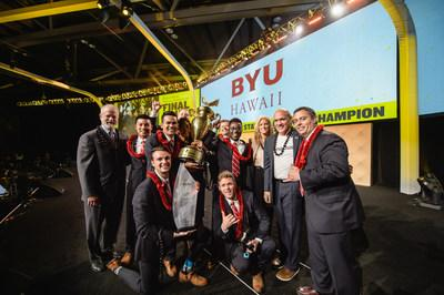 brigham young university hawaii crowned enactus united states