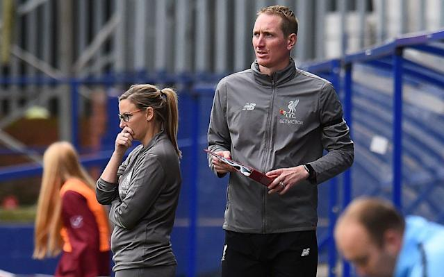 Chris Kirkland had been working as Vicky Jepson's assistant - Liverpool FC