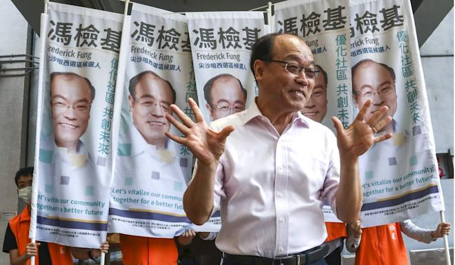Former lawmaker Frederick Fung nearly lost his deposit. Photo: Jonathan Wong