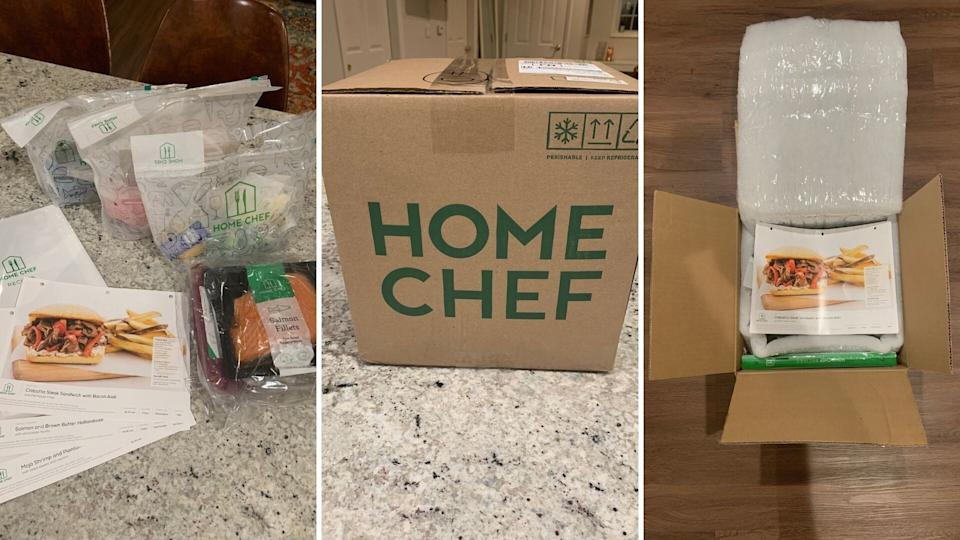 HuffPost Finds shopping expert Danielle Gonzalez received a two-person, three-meal delivery from Home Chef. Here's what she thought of the popular meal kit delivery service. (Photo: Danielle Gonzalez / HuffPost Finds)