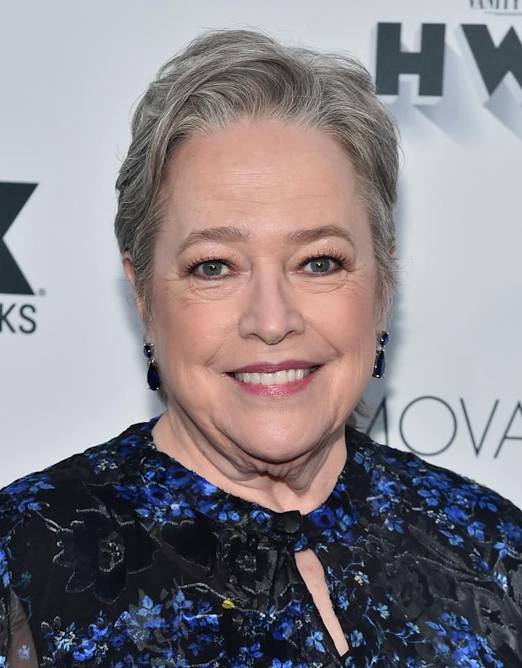 """In 2012, four years after beating her battle with ovarian cancer, <strong>Kathy Bates</strong> was diagnosed with breast cancer. After undergoing a double mastectomy, the Academy Award winner opened up about why she decisioned to not receive reconstructive surgery.  """"I've joined the ranks of women who are going flat, as they say,"""" she told <a rel=""""nofollow"""" href=""""https://www.webmd.com/cancer/features/kathy-bates-life-with-lymphedema#2"""">WebMD</a>. """"I don't have breasts—so why do I have to pretend like I do? That stuff isn't important. I'm just grateful to have been born at a time when the research made it possible for me to survive. I feel so incredibly lucky to be alive."""""""