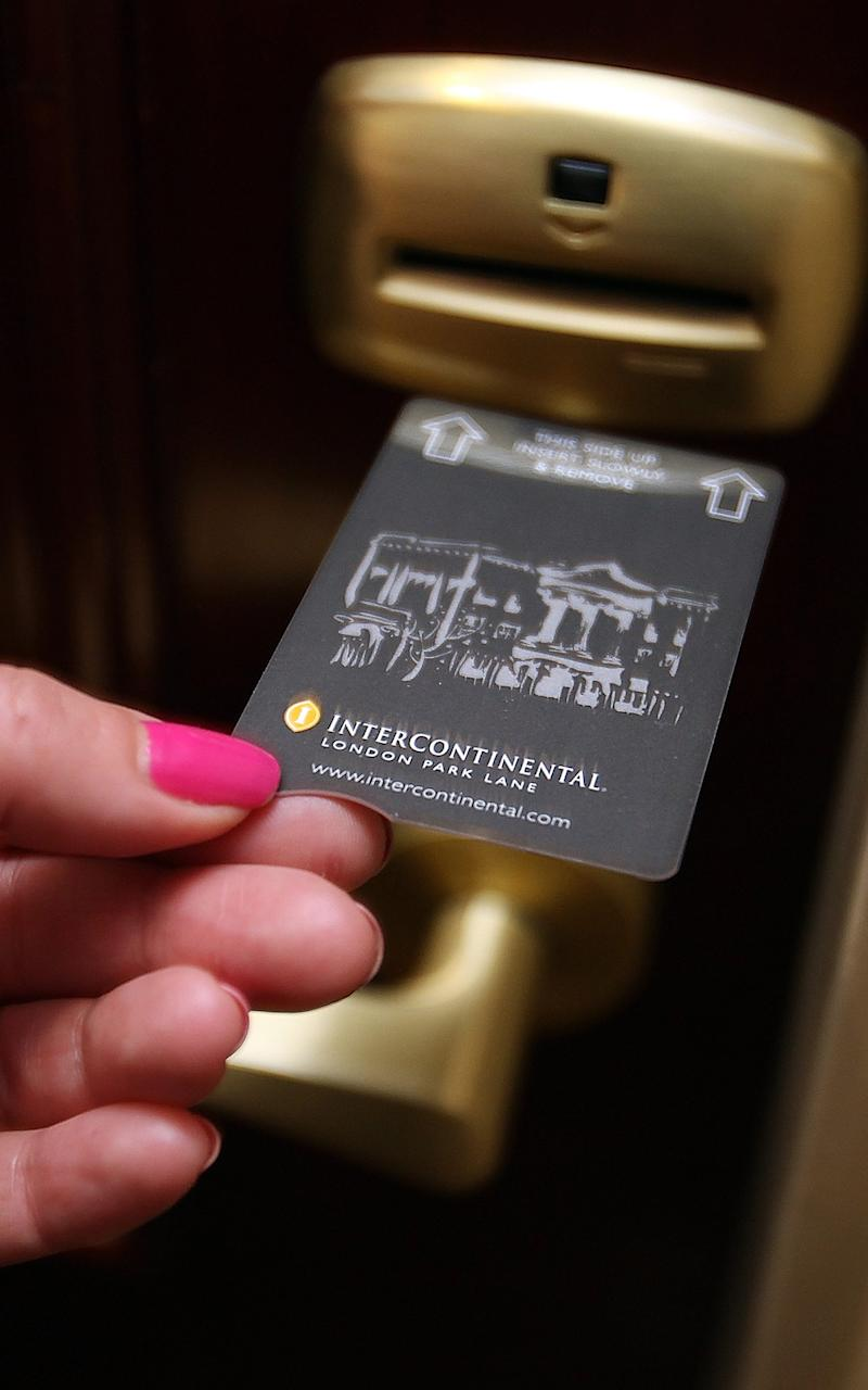 hotel key  - Credit: Intercontinental hotels