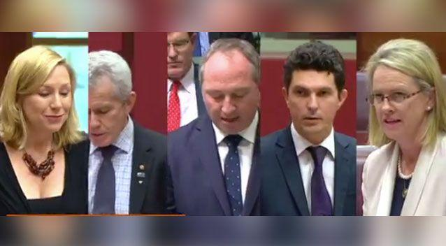Five parliamentarians have been disqualified for being dual citizens. Photo: 7 News