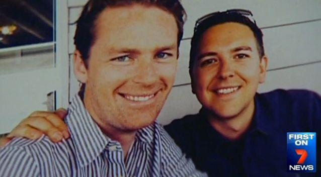Tori and first love and partner of 14 years Thomas Zinn. Photo: 7 News
