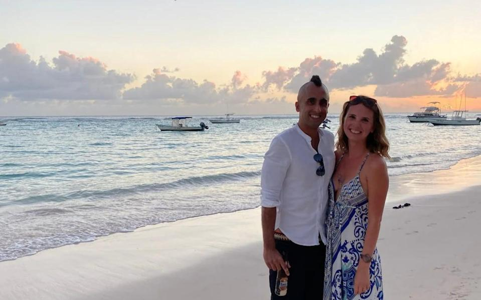 Katie Holmes and her partner Carl have moved their lives to Barbados for at least a year