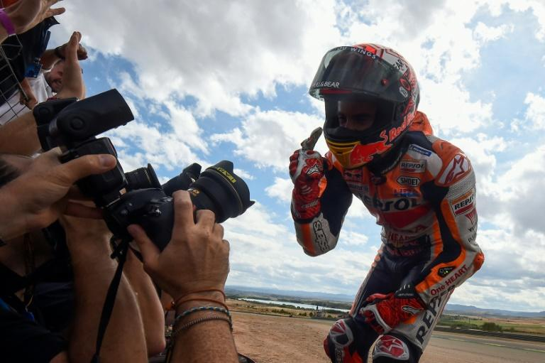 Marc Marquez strengthened his grip on the MotoGP championship with a dominant display in Aragon