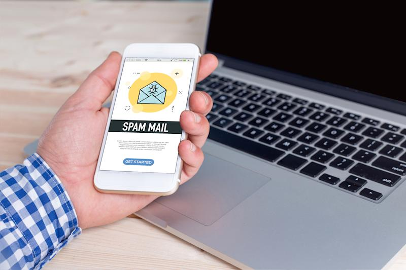 SPAM MAIL CONCEPT