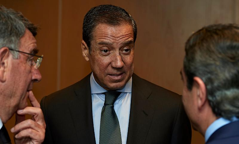 Eduardo Zaplana. (Photo: Manuel Queimadelos Alonso via Getty Images)