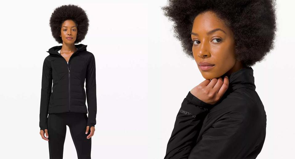 Winter runners swear by Lululemon's $198 Down For It All jacket.