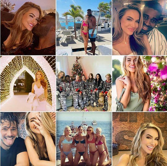 """<p>I love seeing what my <a href=""""https://www.instagram.com/explore/tags/topnine/"""" rel=""""nofollow noopener"""" target=""""_blank"""" data-ylk=""""slk:#topnine"""" class=""""link rapid-noclick-resp"""">#topnine</a> are each year. Looking at this I see friendship, love, family, loss, beginnings, and endings. It was quite a year! Thank you from the bottom of my heart for all the support throughout 2020. 💕It's been a crazy journey. I am grateful for so many things, & hopefully will be able to learn from the things I can't say anything nice about🙏🏼<a href=""""https://www.instagram.com/explore/tags/sellingsunset/"""" rel=""""nofollow noopener"""" target=""""_blank"""" data-ylk=""""slk:#SellingSunset"""" class=""""link rapid-noclick-resp"""">#SellingSunset</a> <a href=""""https://www.instagram.com/explore/tags/dwts/"""" rel=""""nofollow noopener"""" target=""""_blank"""" data-ylk=""""slk:#DWTS"""" class=""""link rapid-noclick-resp"""">#DWTS</a> <a href=""""https://www.instagram.com/explore/tags/family/"""" rel=""""nofollow noopener"""" target=""""_blank"""" data-ylk=""""slk:#family"""" class=""""link rapid-noclick-resp"""">#family</a> <a href=""""https://www.instagram.com/explore/tags/friends/"""" rel=""""nofollow noopener"""" target=""""_blank"""" data-ylk=""""slk:#friends"""" class=""""link rapid-noclick-resp"""">#friends</a> <a href=""""https://www.instagram.com/explore/tags/perserverance/"""" rel=""""nofollow noopener"""" target=""""_blank"""" data-ylk=""""slk:#perserverance"""" class=""""link rapid-noclick-resp"""">#perserverance</a> <a href=""""https://www.instagram.com/explore/tags/2020/"""" rel=""""nofollow noopener"""" target=""""_blank"""" data-ylk=""""slk:#2020"""" class=""""link rapid-noclick-resp"""">#2020</a> <a href=""""https://www.instagram.com/explore/tags/bringon2021/"""" rel=""""nofollow noopener"""" target=""""_blank"""" data-ylk=""""slk:#bringon2021"""" class=""""link rapid-noclick-resp"""">#bringon2021</a> <a href=""""https://www.instagram.com/explore/tags/happynewyear/"""" rel=""""nofollow noopener"""" target=""""_blank"""" data-ylk=""""slk:#happynewyear"""" class=""""link rapid-noclick-resp"""">#happynewyear</a></p><p><a href=""""https://www.instagram.com/p/CJe9UiBLXGh/"""" rel=""""nofollow noopener"""" target=""""_blank"""