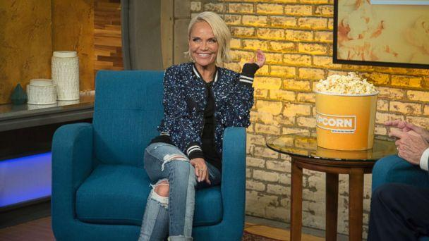 PHOTO: Kristin Chenoweth appears on 'Popcorn with Peter Travers' at ABC News studios in New York City, July 17, 2018. (Jeff Swartz/ABC News)