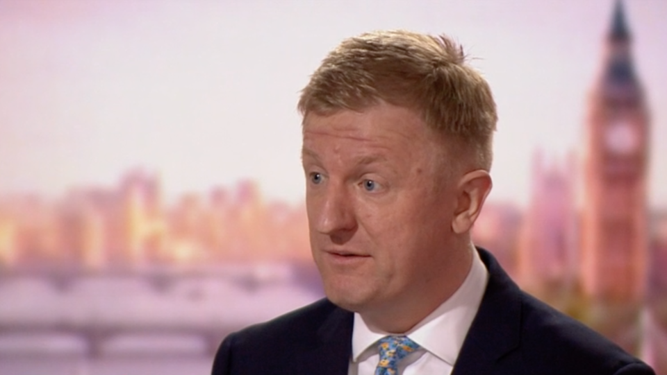 Oliver Dowden talks to Andrew Marr about the UK roadmap out of lockdown. (BBC)