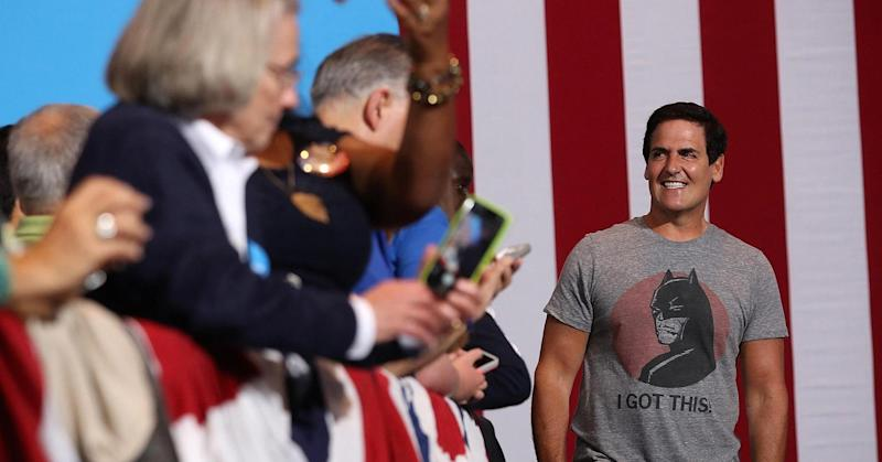 Mark Cuban on running for president: 'I wouldn't say never'
