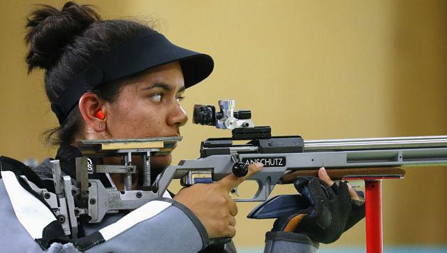 File image of rifle shooter Anjum Moudgil. Reuters