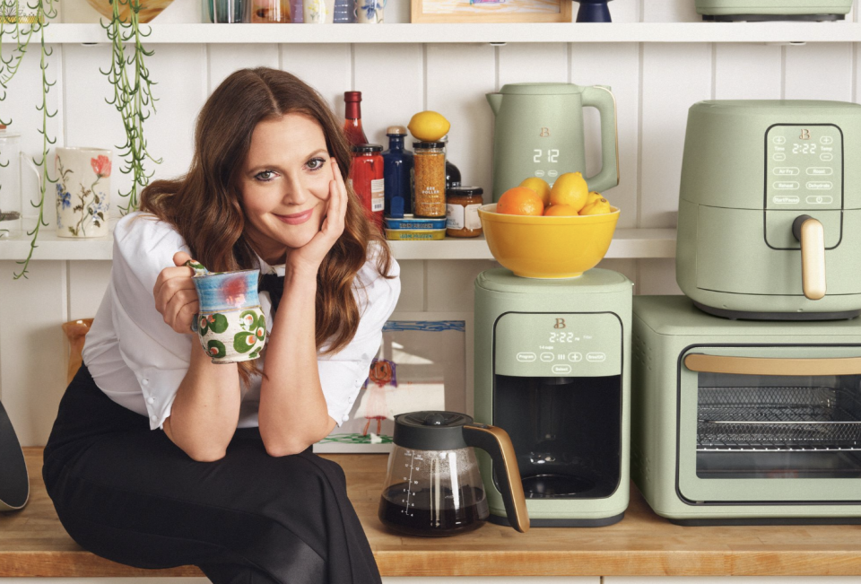 Drew Barrymore's new line is perfect for any kitchen. (Photo: Walmart)