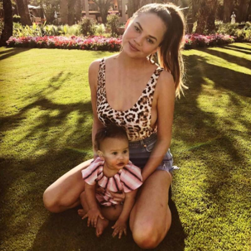 The Comment Chrissy Teigen Made About Boogers Is Going to Speak to Literally Every Parent