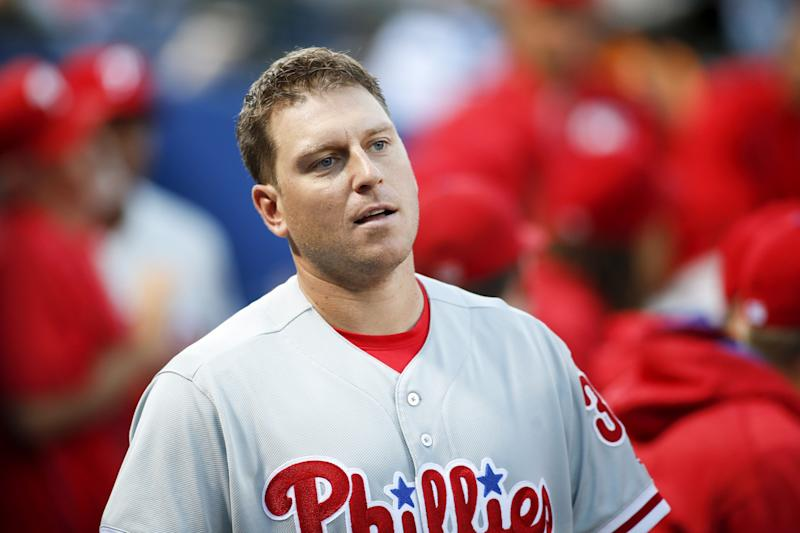 A.J. Ellis is headed to the Marlins on a one-year deal. (AP)