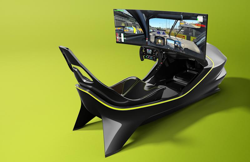 Aston Martin racing simulator AMR-C01