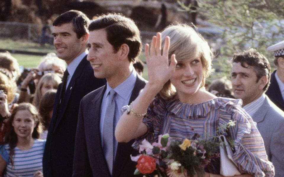 Charles and Diana in Melbourne, March 1983 - Getty