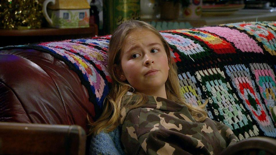 <p>Will Paul tell everyone about her seizure? </p>