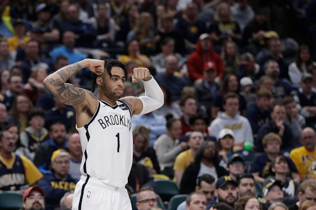The Brooklyn Nets are back in the NBA playoffs. (AP Photo/Darron Cummings)
