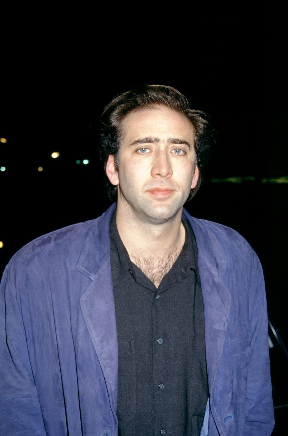 <p>Nicolas Cage in the '90s was all about the chest hair and we can see why. It was quite a look.</p>