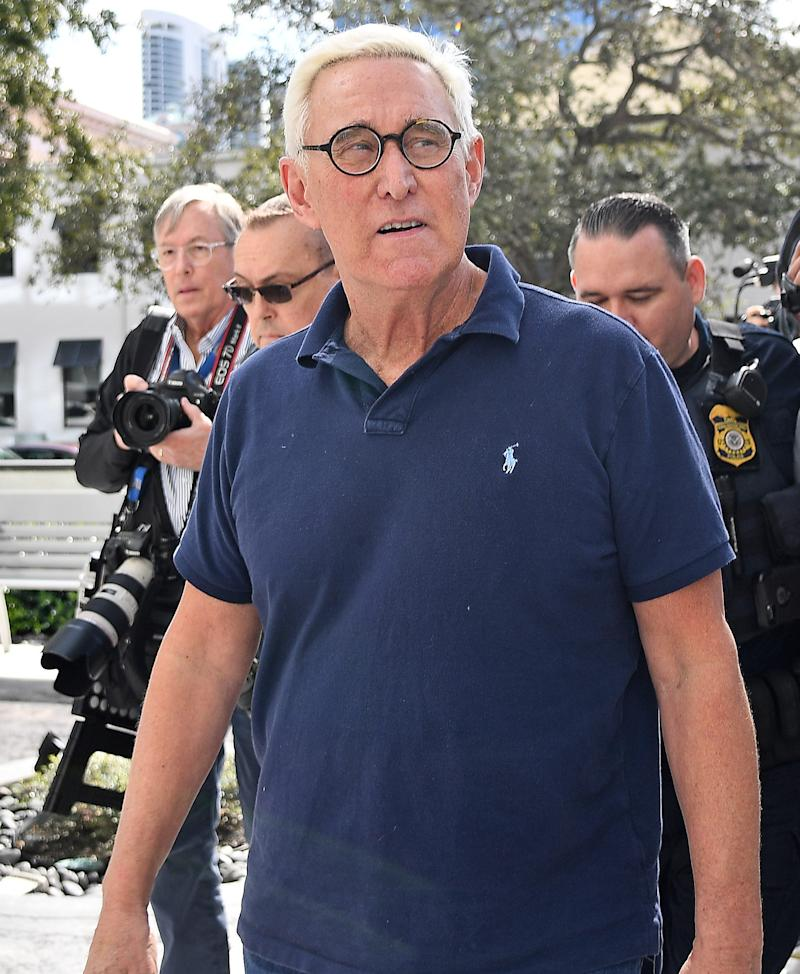 American political consultant Roger Stone.