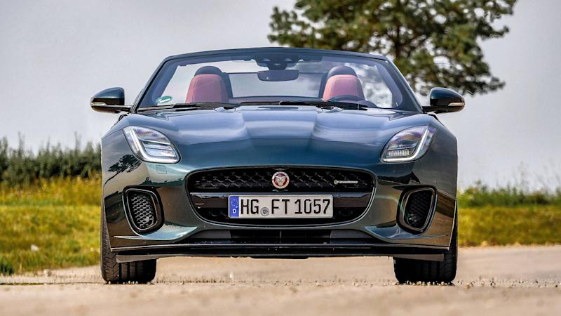 Jaguar F-Type P300 Cabriolet Test