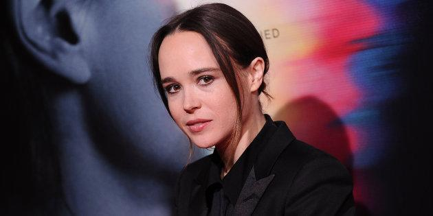 Actress Ellen Page attends the premiere of