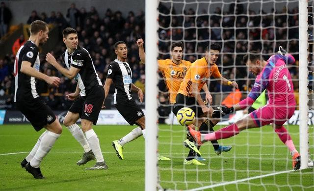 Newcastle goalkeeper Martin Dubravka had an afternoon to remember
