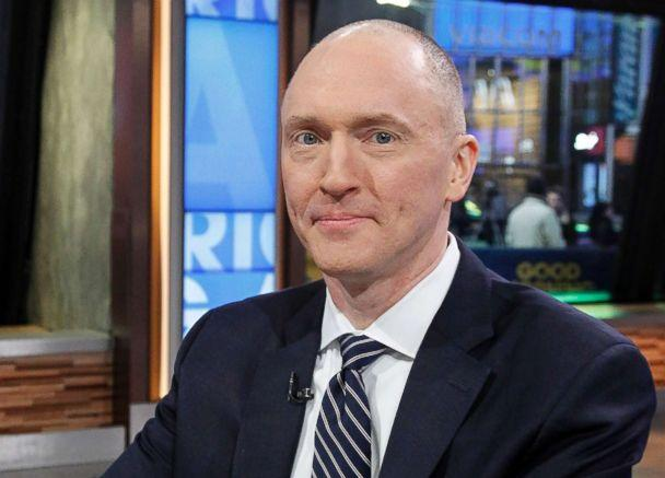 PHOTO: Carter Page, former foreign-policy adviser to Donald Trump's 2016 Presidential campaign, appears on ABC's 'Good Morning America,' Feb. 6, 2018. (Lou Rocco/ABC, FILE)
