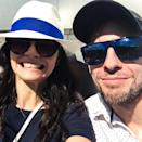 <p>Ice dancer Anna Cappellini and figure skater Ondrej Hotarek are both representing Team Italy in PyeongChang. While the two are a couple off the ice, they prefer to skate with other partners. (Photo via Instagram/kapanna87) </p>
