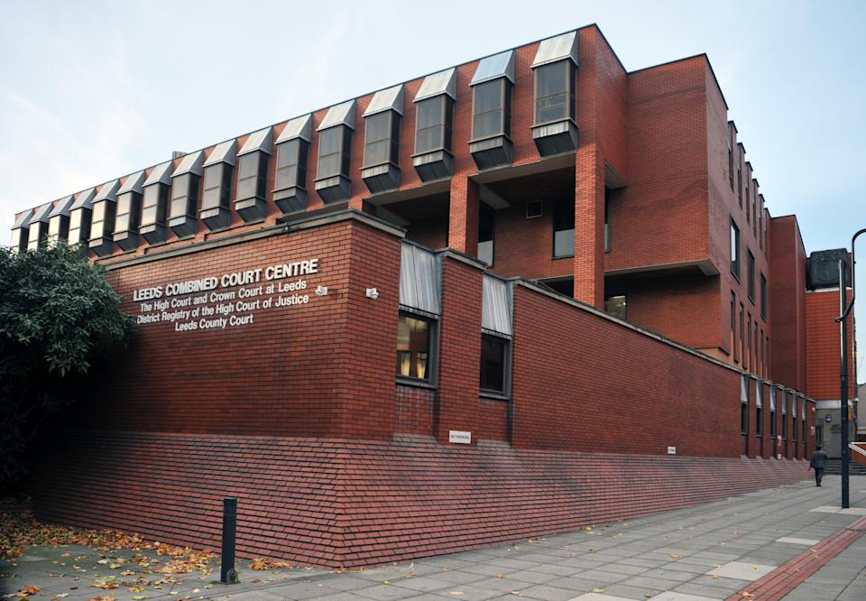 The jury at Leeds Crown Court heard how Biddle stalked his victim. (Getty)