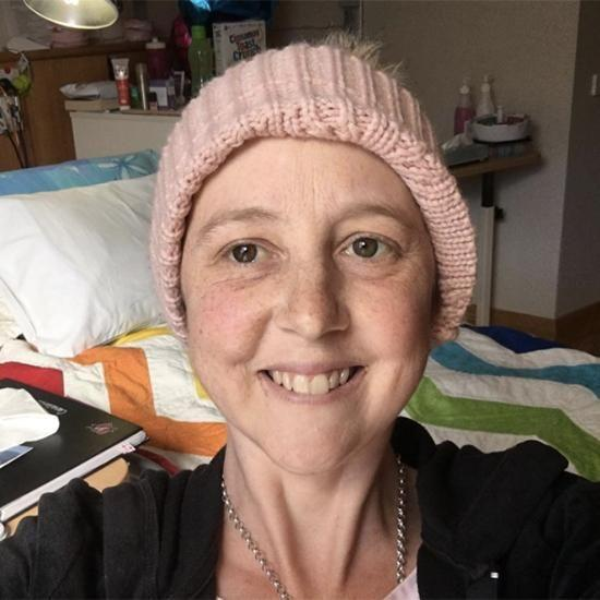 Connie Johnson has done an interview from her hospice bed. Photo: Facebook