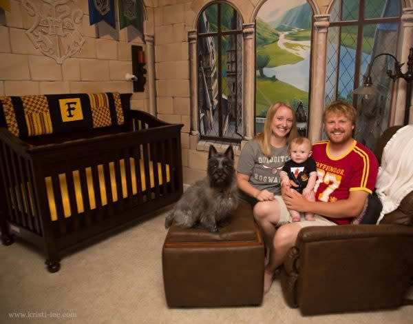 """This """"Harry Potter"""" nursery is everything we have ever wanted"""