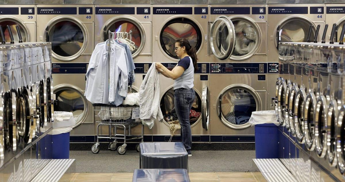 Laundromat or Shared Laundry Room