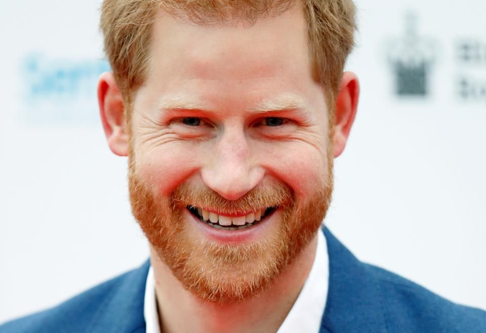 LONDON, UNITED KINGDOM - JUNE 11: (EMBARGOED FOR PUBLICATION IN UK NEWSPAPERS UNTIL 24 HOURS AFTER CREATE DATE AND TIME) Prince Harry, Duke of Sussex attends the Sentebale Audi Concert at Hampton Court Palace on June 11, 2019 in London, England. The charity Sentebale was founded by Their Royal Highnesses The Duke of Sussex and Prince Seeiso Bereng Seeiso of Lesotho in 2006. (Photo by Max Mumby/Indigo/Getty Images)