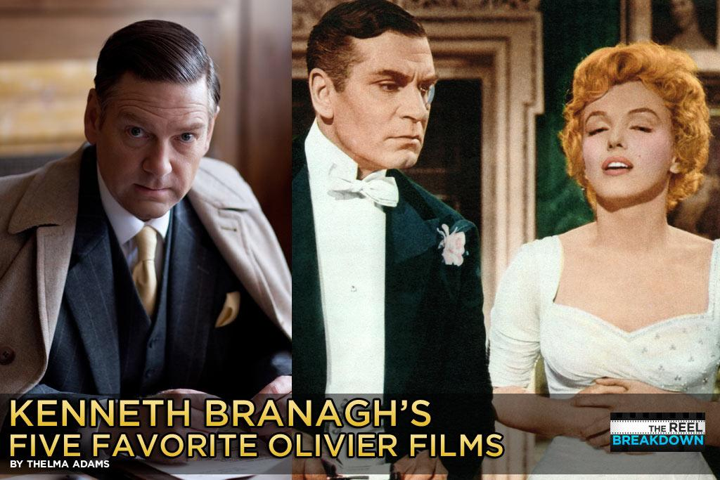 """We asked <a href=""""http://movies.yahoo.com/movie/contributor/1800019957"""">Kenneth Branagh</a> for his five favorite Sir <a href=""""http://movies.yahoo.com/movie/contributor/1800011568"""">Laurence Olivier</a> films following his recent Golden Globe nomination for playing the famed English actor-director in """"<a href=""""http://movies.yahoo.com/movie/1810178830/info"""">My Week with Marilyn</a>."""" The Irish-born, four-time Oscar nominee acted pleased:"""