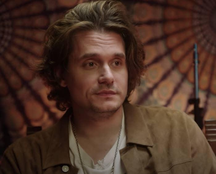 John Mayer being interview by Apple Music in 2021