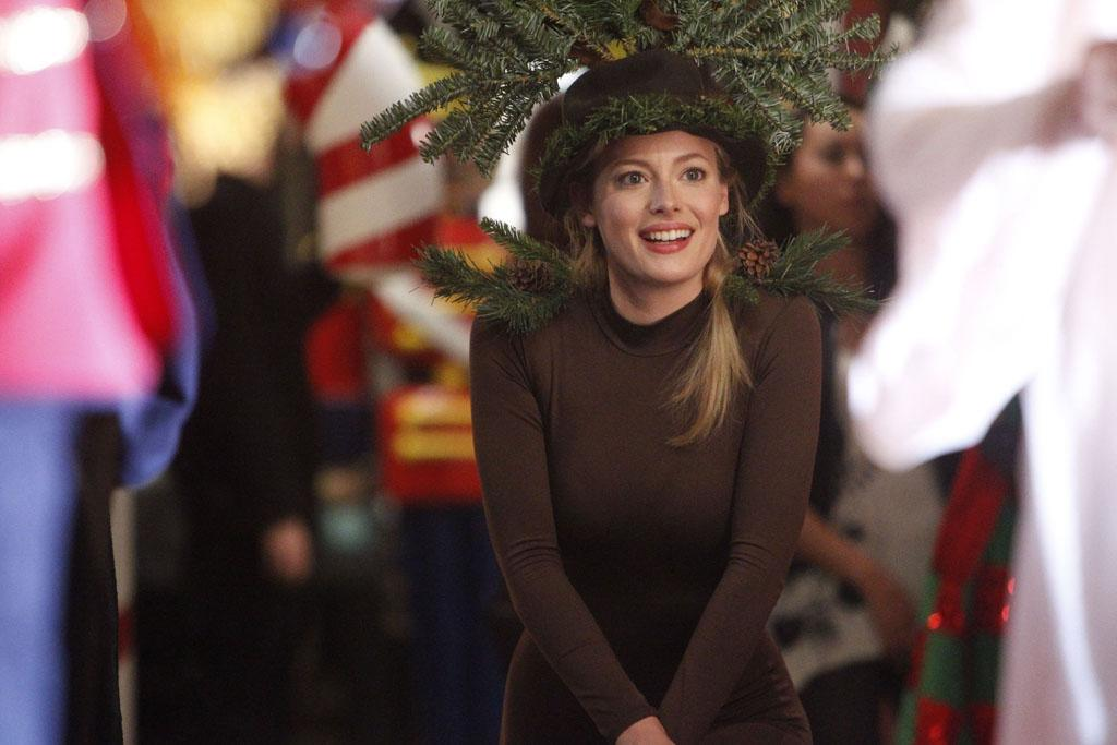 """Gillian Jacobs as Britta in the """"Community"""" Season 3 episode, """"Regional Holiday Music."""""""