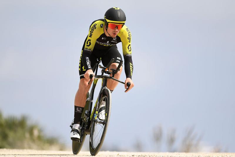 MIJAS SPAIN FEBRUARY 23 Alex Edmondson of Australia and Team MitcheltonScott during the 66th Vuelta a Andaluca Ruta del Sol 2020 Stage 5 a 13km Individual Time Trial from Mijas to Mijas 672m VCANDALUCIA UCIProSeries ITT on February 23 2020 in Mijas Spain Photo by David RamosGetty Images