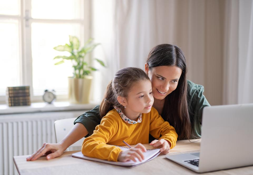 A mum who is homeschooling her daughter got the shock of her life after marking some homework. Photo: Getty