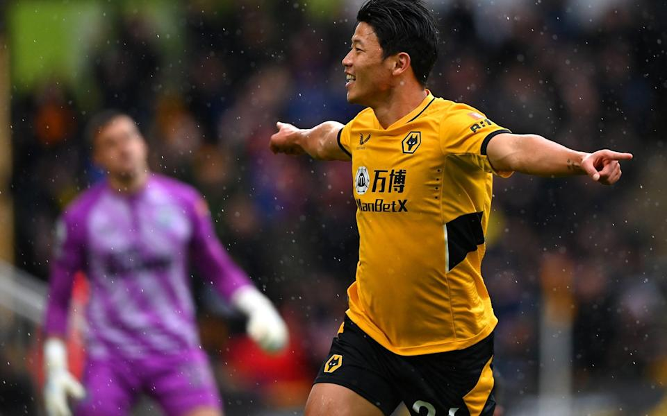 Hwang Hee-chan - Molineux rocks again as Hwang Hee-chan double ends dismal home run against sorry Newcastle - GETTY IMAGES