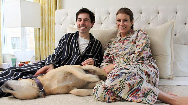Celebrity Sleepovers: Comedian and Filmmaker Mark Malkoff Cozies Up to the Stars